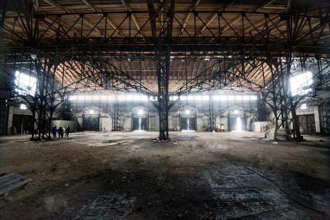 Сегодняшнее состояние конструкций. Фото © Денис Макаренко