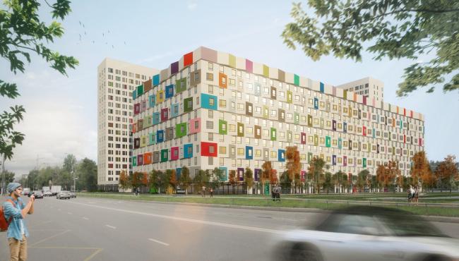 ЖК Green Park © Проектное бюро «Апекс» и buromoscow. Заказчик: ГК ПИК