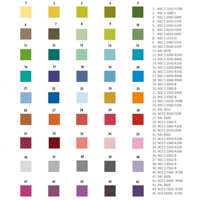 ЖК Green Park. Цветовая палитра фасада © Проектное бюро «Апекс» и buromoscow. Заказчик: ГК ПИК