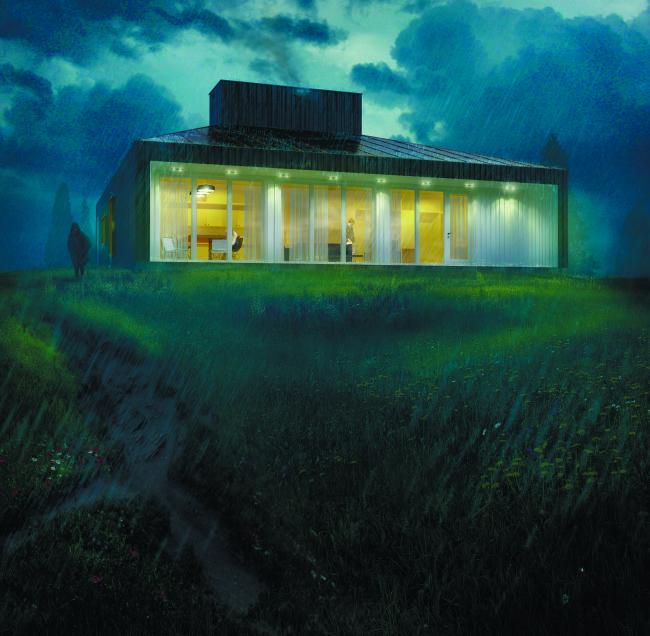 «Дом с видом на небо». Евгений Ширчков (Саранск). Предоставлено фондом «Мир молодежи»