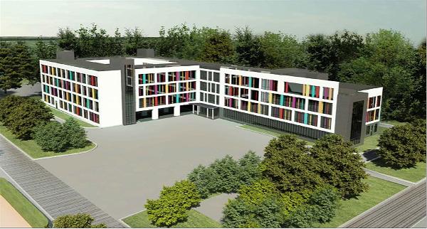 Школа на 825 мест, Дмитровское шоссе, владение 167 корпус 13, (1-я очередь). «Моспроект-3»