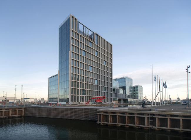 Офисный комплекс компании Bestseller в процессе строительства © Julian Weyer