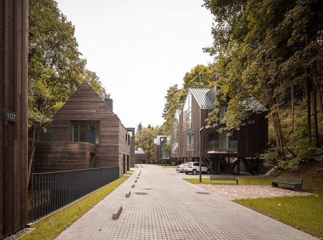 Жилой комплекс Rasu Namai © Norbert Tukaj
