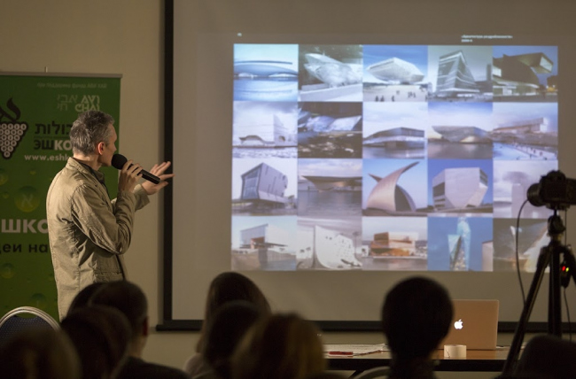 Сергей Ситар подытоживает склонность современной архитектуры к загадочности и непереводимости. Фотография предоставлена проектом «Эшколот», 2015