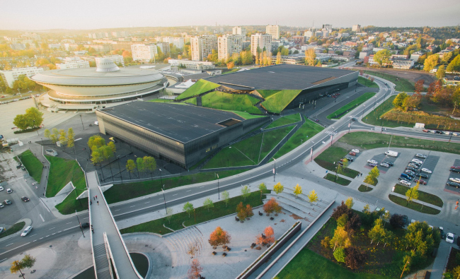 Международный конгресс-центр в Катовице © Wojciech Radwański