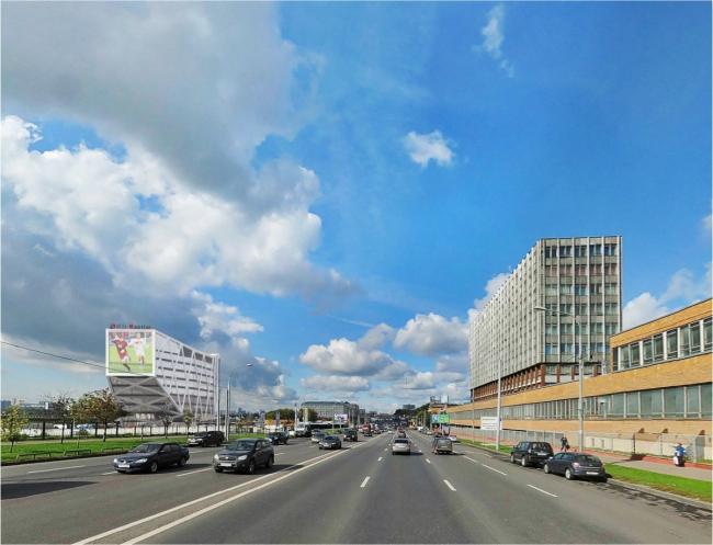 Бизнес-центр на Волоколамском шоссе. Проектировщик: Speech, заказчик: «Тушино 2018»