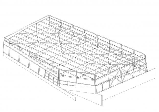 Коллеж, спортивный зал и культурный центр в Лилле © Chartier Dalix Architectes