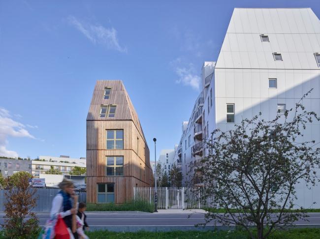 Комплекс социального жилья Rive Seine © Stéphane Chalmeau