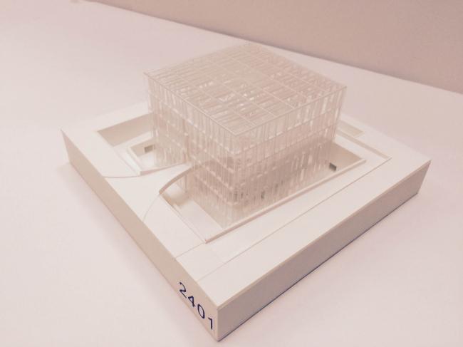 Макет павильона атомной энергии на ВДНХ © «Итал Инжиниринг Интернешнл», Archea Assotiati, Zanetti Design