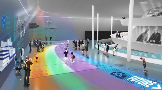 Концепция павильона атомной энергии на ВДНХ © IND Architects, FR-EE
