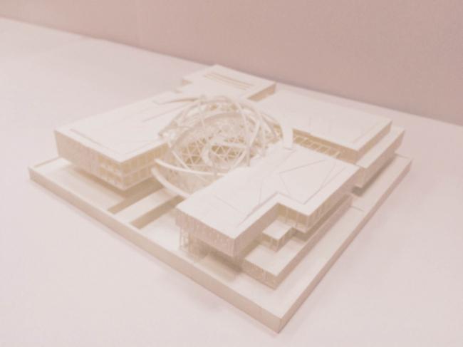 Макет павильона атомной энергии на ВДНХ © «Моспроект», А+А, Cardin Ramirez Julien Inc.