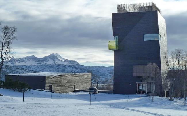 Центр Кнута Гамсуна близ Хамарёя на севере Норвегии. Фото: TorbjørnS via Wikimedia Commons. Лицензия Creative Commons Attribution-Share Alike 3.0