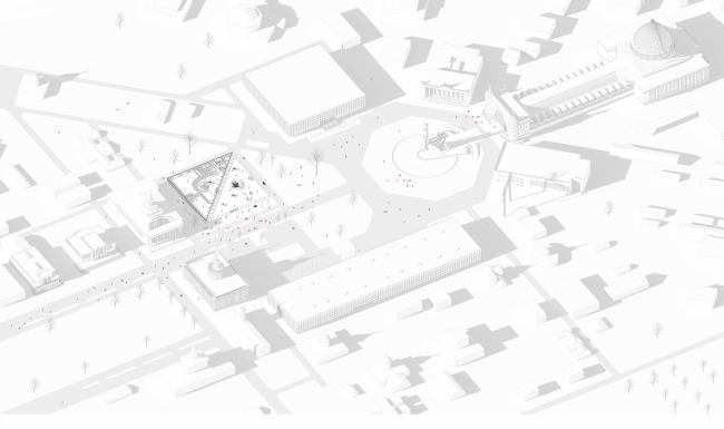 Павильон «Росатома» на ВДНХ. Генеральный план © UNK project