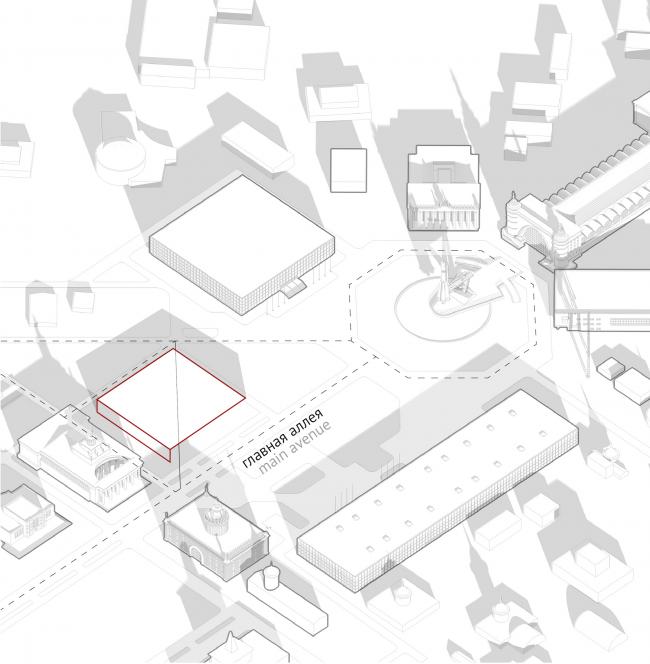 Павильон «Росатома» на ВДНХ. Проницаемость © UNK project
