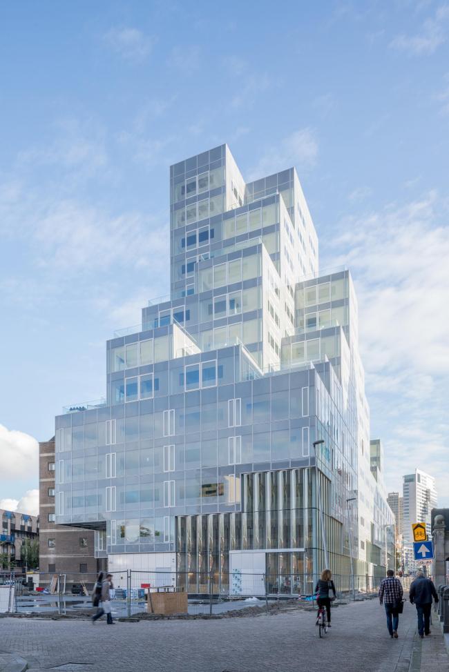 Тиммерхёйс – новое здание ратуши Роттердама. Предоставлено OMA; фото: Ossip van Duivenbode