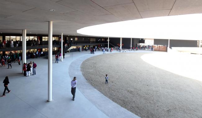 Школа Айелен в Ранкагуа (Чили). 2015 © ELEMENTAL