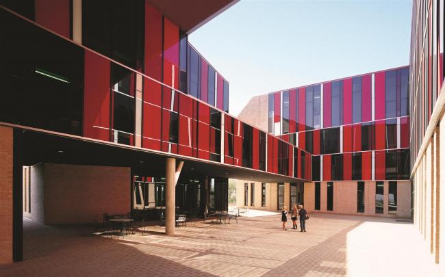 Общежитие университета Сент-Эдвардс в Остине, штат Техас. 2008 © Cristobal Palma