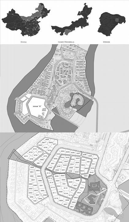 «Ордос 100». План будущего жилого массива