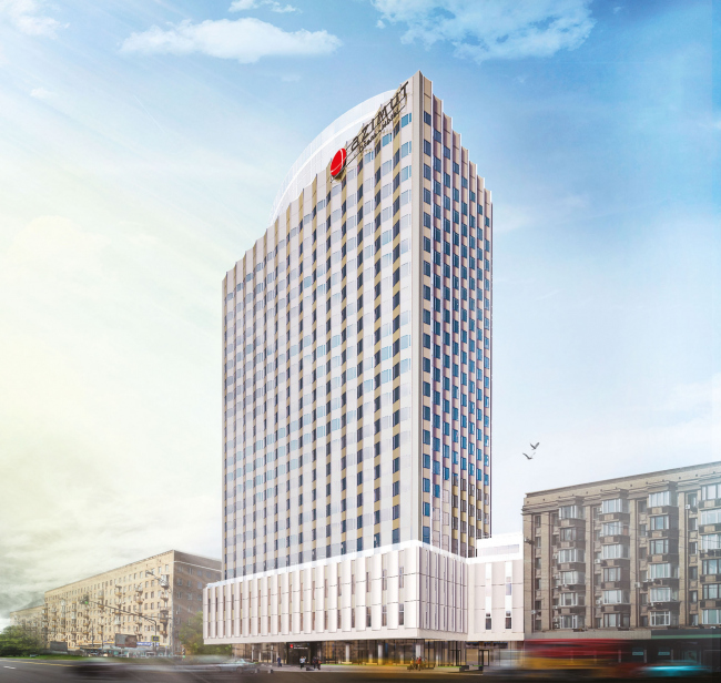 Проект перепланировки гостиницы «Белград». Вариант 3 © T+T Architects