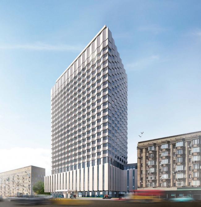 Проект перепланировки гостиницы «Белград». Вариант 4 © T+T Architects