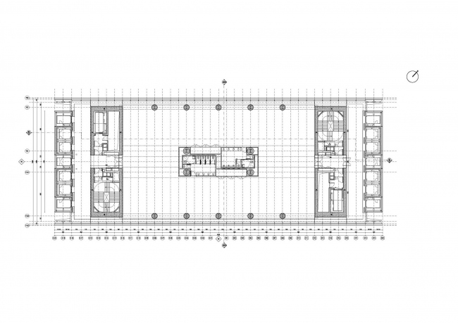 Башня Allianz комплекса CityLife © Andrea Maffei Architects