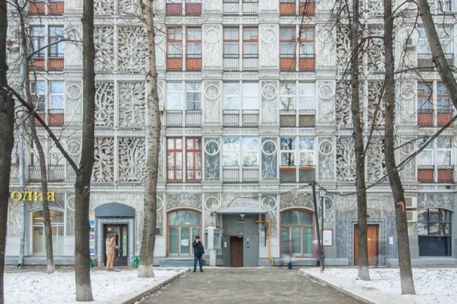 Крупноблочный жилой дом на Ленинградском проспекте © Денис Есаков