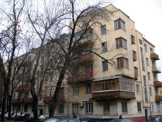 Один из домов по Погодинской ул. Фотография: archnadzor.ru