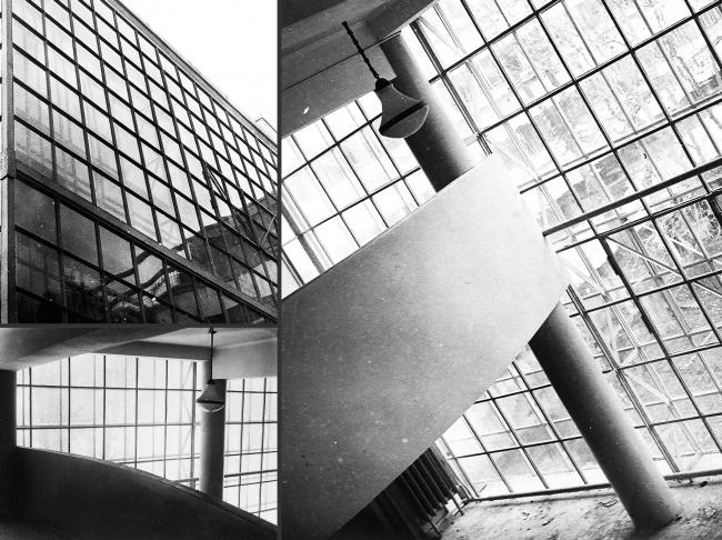 Проект реставрации и приспособления выявленного объекта культурного наследия «Здание дома-коммунны Наркомфина». Существующее положение © Гинзбург Архитектс