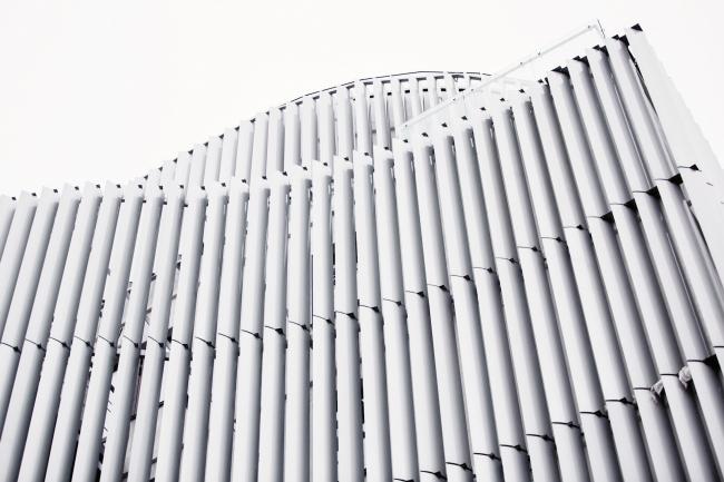 """Zhaikmunai"" buiness center. Construction, 2015. Photo © Alexander Khokhlachev"