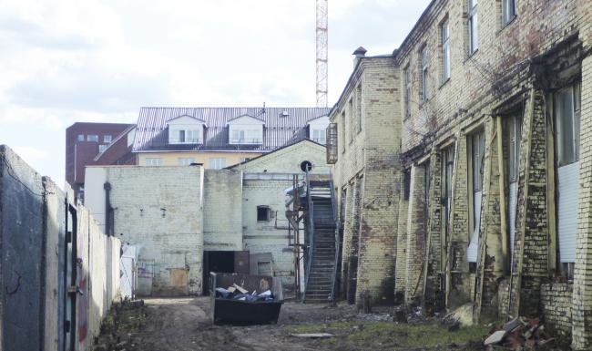 """Danilovskaya Manufactura"". ""Meshcherin"" Building, the current state © City-Arch"