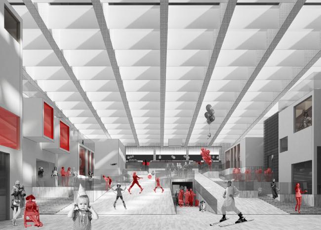 Проект редевелопмента кинотеатра «Варшава»