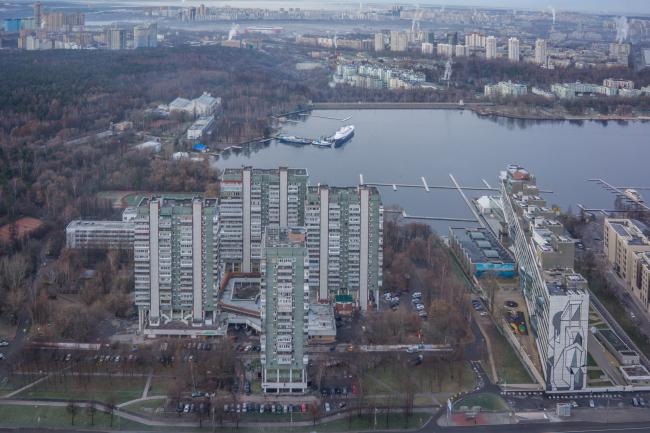 Жилой комплекс «Лебедь» на Ленинградском шоссе © Денис Есаков и Дмитрий Василенко