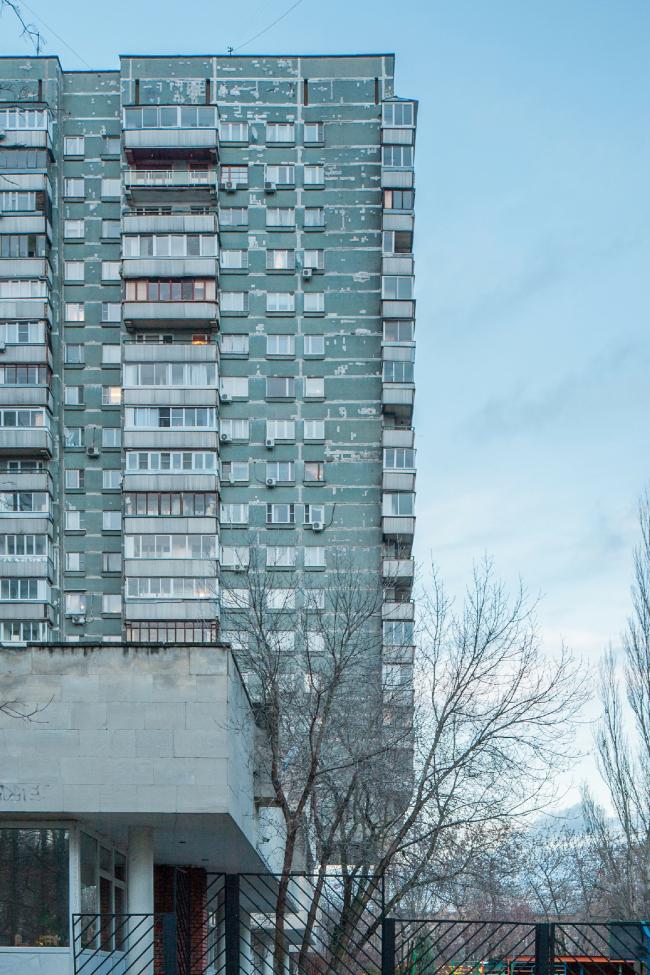 Жилой комплекс «Лебедь» на Ленинградском шоссе © Денис Есаков