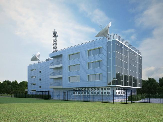 Деловой центр «Новая столица». Модель © Мезонпроект