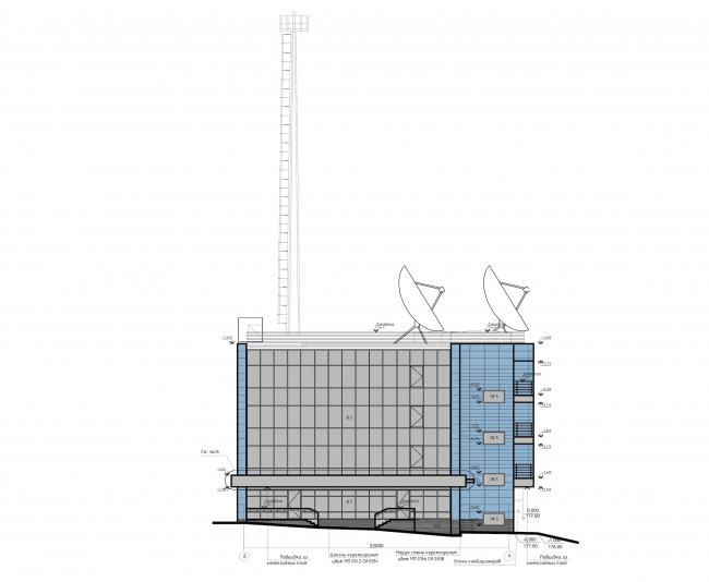 Деловой центр «Новая столица». Фасад © Мезонпроект