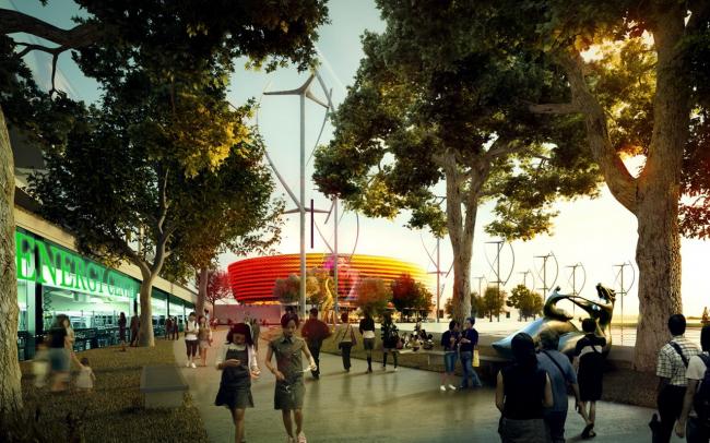 Район культуры Западного Коулуна – проект 2011 года © Foster + Partners