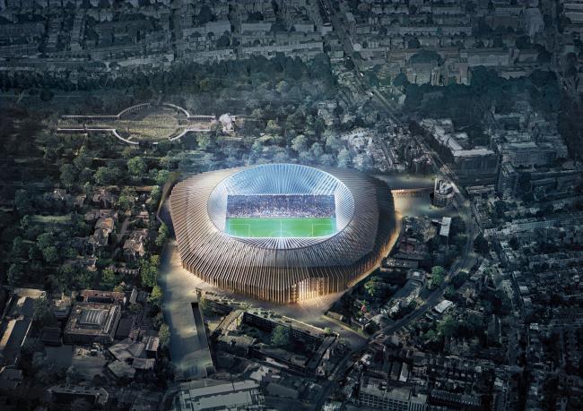 Стадион ФК Chelsea «Стэмфорд-бридж» © Herzog & de Meuron