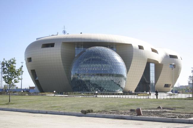Центральный офис ЗАО «Балтийская жемчужина» © Архитектурная мастерская Цыцина