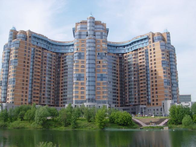 """""""Korona"""" residential complex © Sergey Tsytsin Architects"""