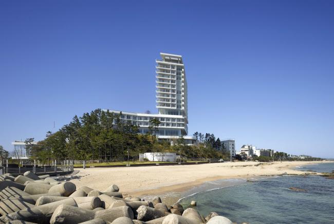 Гостиница Seamarq Hotel © Roland Halbe