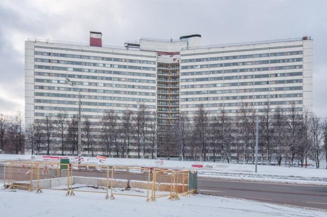 Дом аспиранта и стажера МГУ на улице Шверника © Денис Есаков