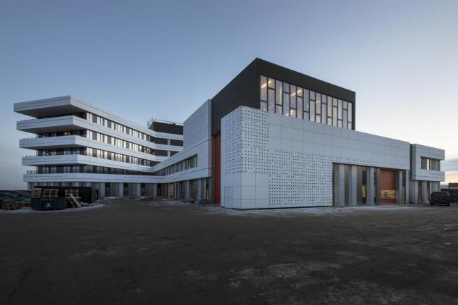 Административный центр порта Орхуса © Julian Weyer