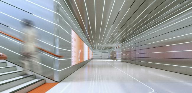 Дизайн станции «Терехово» © Архитектурное бюро Variant Studio (Латвия). Предоставлено КБ «Стрелка»