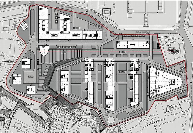 схема генерального плана (проектное предложение)