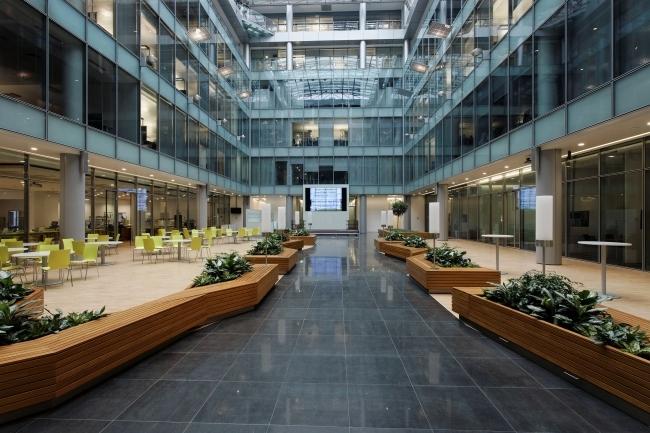 Московский офис компании Siemens © ABD architects