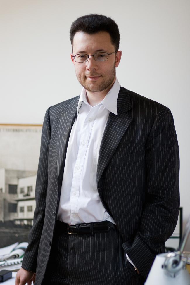 Aleksey Ginsburg. Photo courtesy by Ginsburg Architects