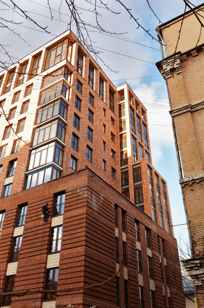 Жилой комплекс «Трилогия». Постройка, 2009-2011 © Гинзбург Архитектс