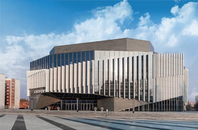 Киноконцертный зал «Пенза». Фотография © Игорь Ермоленко. Архитектурное бюро «Март»