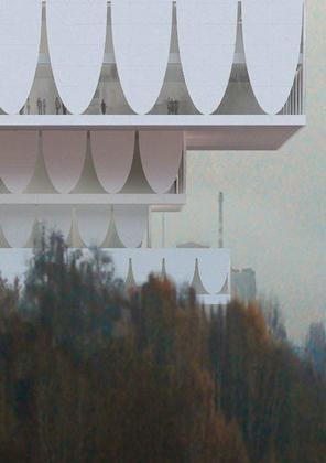 Валерио Олджати. Музейный центр PermMuseumXXI. Конкурсный проект