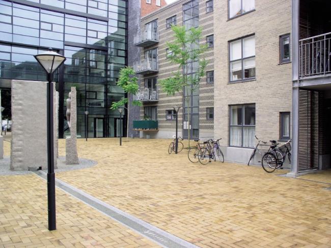 Клинкерная брусчатка Hagemeister Odense 200x100x50. Фото предоставлено фирмой «Кирилл»
